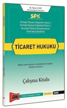 Yargı Yayınları SPK Ticaret Hukuku Çalışma Kitabı