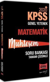 Yargı Yayınları 2020 KPSS Muhteşem Matematik Tamamı Çözümlü Soru Bankası
