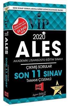 Yargı Yayınları 2020 ALES VIP Tamamı Çözümlü Son 11 Sınav Çıkmış Sorular