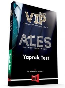 Yargı Yayınları 2017 ALES VIP Yaprak Test