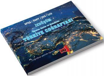 Yargı Yayınları KPSS ÖABT YGS LYS İZDÜŞÜM Öğreten Harita ve Şemalarla Türkiye Coğrafyası