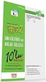 Yargı Yayınları 8. Sınıf TEOG 2 Tam İsabet Din Kültürü ve Ahlak Bilgisi 10 lu Deneme Seti