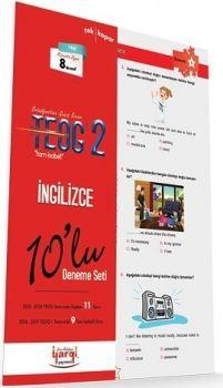 Yargı Yayınları 8. Sınıf TEOG 2 Tam İsabet İngilizce 10 lu Deneme Seti