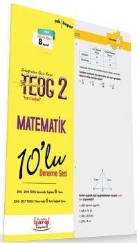Yargı Yayınları 8. Sınıf TEOG 2 Tam İsabet Matematik 10 lu Deneme Seti