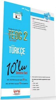 Yargı Yayınları 8. Sınıf TEOG 2 Tam İsabet Türkçe 10 lu Deneme Seti