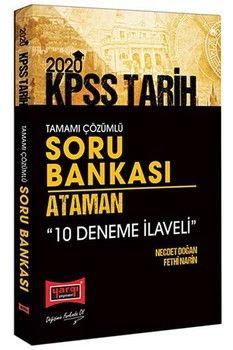 Yargı Yayınları 2020 KPSS Ataman Tarih Tamamı Çözümlü Soru Bankası 10 Deneme İlaveli