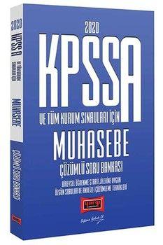 Yargı Yayınları 2020 KPSS A Grubu ve Tüm Kurum Sınavları İçin Muhasebe Çözümlü Soru Bankası