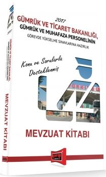 Yargı Yayınları GYS Gümrük ve Ticaret Bakanlığı Gümrük ve Muhafaza Personeli Mevzuat Kitabı