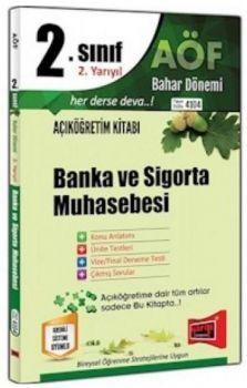Yargı Yayınları 2. Sınıf 4. Yarıyıl Banka ve Sigorta Muhasebesi 4104