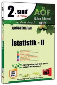 Yargı Yayınları 2. Sınıf 4. Yarıyıl İstatistik 2 4134