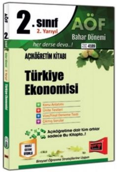 Yargı Yayınları 2. Sınıf 4. Yarıyıl Türkiye Ekonomisi 4189