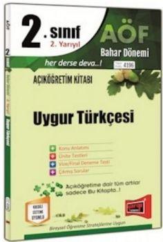Yargı Yayınları 2. Sınıf 4. Yarıyıl Uygur Türkçesi 4196