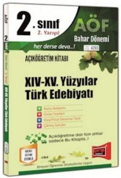 Yargı Yayınları 2. Sınıf 4. Yarıyıl 14. 15. Yüzyıllar Türk Edebiyatı 4203
