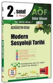Yargı Yayınları 2. Sınıf 4. Yarıyıl Modern Sosyoloji Tarihi 4154