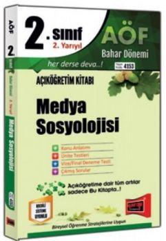 Yargı Yayınları 2. Sınıf 4. Yarıyıl Medya Sosyolojisi 4153