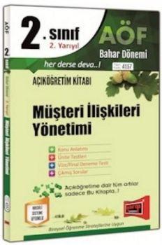 Yargı Yayınları 2. Sınıf 4. Yarıyıl Müşteri İlişkileri Yönetimi 4157