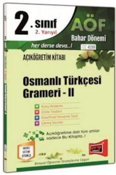 Yargı Yayınları 2. Sınıf 4. Yarıyıl Osmanlı Türkçesi Grameri 2 4159
