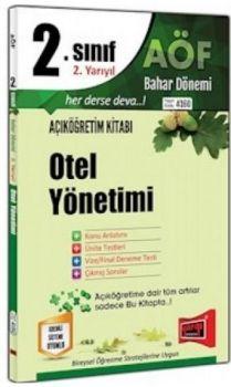 Yargı Yayınları 2. Sınıf 4. Yarıyıl Otel Yönetimi 4160