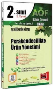 Yargı Yayınları 2. Sınıf 4. Yarıyıl Perakendecilikte Ürün Yönetimi 4161