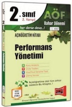Yargı Yayınları 2. Sınıf 4. Yarıyıl Performans Yönetimi 4162