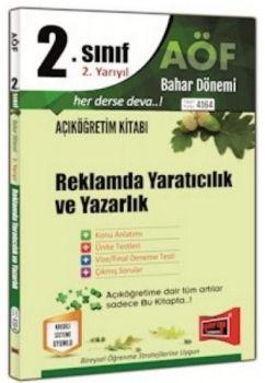 Yargı Yayınları 2. Sınıf 4. Yarıyıl Reklamda Yaratıcılık ve Yazarlık 4164