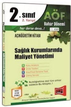 Yargı Yayınları 2. Sınıf 4. Yarıyıl Sağlık Kurumlarında Maliyet Yönetimi 4169
