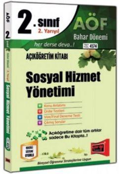 Yargı Yayınları 2. Sınıf 4. Yarıyıl Sosyal Hizmet Yönetimi 4174