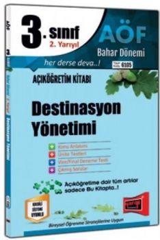 Yargı Yayınları 3. Sınıf 6. Yarıyıl Destinasyon Yönetimi 6105