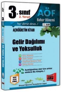 Yargı Yayınları 3. Sınıf 6. Yarıyıl Gelir Dağılımı ve Yoksulluk 6109