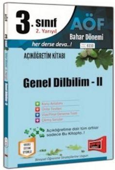 Yargı Yayınları 3. Sınıf 6. Yarıyıl Genel Dilbilim 2 6110