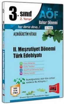 Yargı Yayınları 3. Sınıf 6. Yarıyıl 2. Meşrutiyet Dönemi Türk Edebiyatı 6146