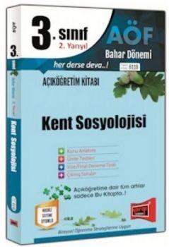 Yargı Yayınları 3. Sınıf 6. Yarıyıl Kent Sosyolojisi 6118