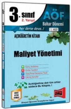Yargı Yayınları 3. Sınıf 6. Yarıyıl Maliyet Yönetimi 6122