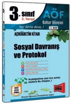 Yargı Yayınları 3. Sınıf 6. Yarıyıl Sosyal Davranış ve Protokol 6132
