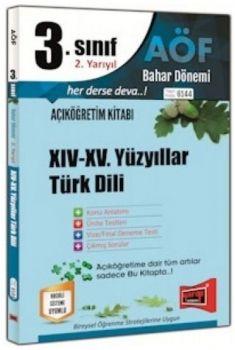 Yargı Yayınları 3. Sınıf 6. Yarıyıl 14. 15 . Yüzyıllar Türk Dili 6144