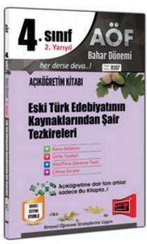 Yargı Yayınları 4. Sınıf 8. Yarıyıl Eski Türk Edebiyatının Kaynaklarından Şair Tezkireleri 8107