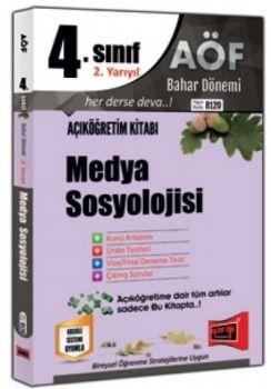 Yargı Yayınları 4. Sınıf 8 .Yarıyıl Medya Sosyolojisi 8120