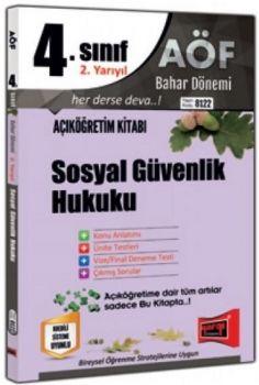 Yargı Yayınları 4. Sınıf 8. Yarıyıl Sosyal Güvenlik Hukuku 8122