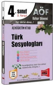 Yargı Yayınları 4. Sınıf 8. Yarıyıl Türk Sosyologları 8128