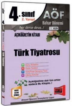 Yargı Yayınları 4. Sınıf 8. Yarıyıl Türk Tiyatrosu 8129