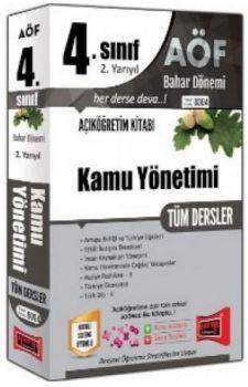 Yargı Yayınları 4. Sınıf 8. Yarıyıl Kamu Yönetimi Tüm Dersler 8004