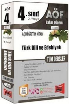 Yargı Yayınları 4. Sınıf 8. Yarıyıl Türk Dili ve Edebiyatı Tüm Dersler 8008