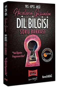 Yargı Yayınları YKS KPSS MSÜ Hocaların Gözünden Dil Bilgisi Soru Bankası