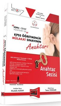 Yargı Yayınları 2017 KPSS Öğretmenlik Mülakat Sınavının Anahtarı