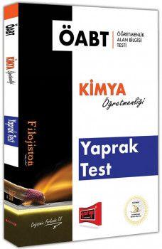Yargı Yayınları ÖABT FİLOJİSTON Kimya Öğretmenliği Yaprak Test