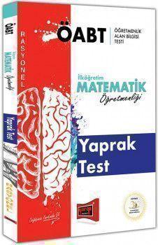 Yargı Yayınları ÖABT RASYONEL İlköğretim Matematik Öğretmenliği Yaprak Test