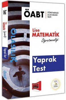 Yargı Yayınları ÖABT OLASILIK Lise Matematik Öğretmenliği Yaprak Test