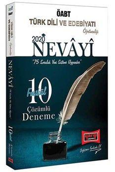 Yargı Yayınları 2020 ÖABT Türk Dili ve Edebiyatı Öğretmenliği NEVAYİ Çözümlü 10 Fasikül Deneme