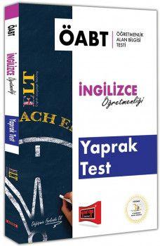 Yargı Yayınları ÖABT ELT İngilizce Öğretmenliği Yaprak Test