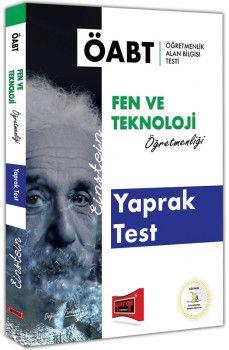 Yargı Yayınları ÖABT EİNSTEİN Fen ve Teknoloji Öğretmenliği Yaprak Test
